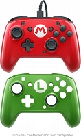 PDP Nintendo Switch Pad przewodowy Delux Pro FACEOFF MARIO