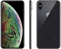 "Apple iPhone Xs Max 256GB Gwiezdna Szarość 6.5"" Super Retina HD, 12MP, A12 Bionic, FV23%"