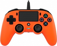 Nacon COMPACT Controller PS4 PC Pad POMARAŃCZOWY - FVAT 23%