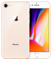 "Apple iPhone 8 64GB Złoty 4.7"" Retina HD, 12MP, A11 M11, FV23%"