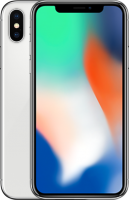 "Apple iPhone X 64GB Srebrny 5.8"" Super Retina HD, 12MP, A11 M11, FV23%"