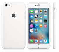 Oryginalne Silikonowe etui do Apple iPhone 6s+ plus White (Białe)